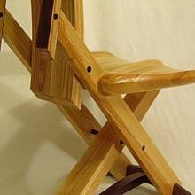 Ash amd Walnut Three Leg Chair - Woodworking Project by Woodbridge