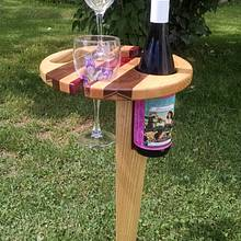 Outdoor Wine Caddy - Woodworking Project by Anthony