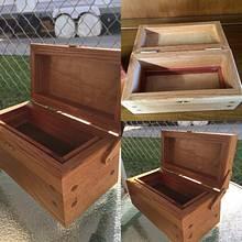 Oak keepsake box - Woodworking Project by David