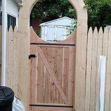 Garden gate - Woodworking Project by Brian