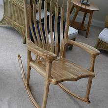 2nd Rocking Chair - Woodworking Project by MJCD
