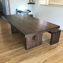 Butcher block dining table  - Woodworking Project by Indistressed