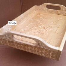Chip carved tray - Woodworking Project by Dutchy