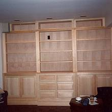 Casework: Library Cabinets - Woodworking Project by Xylonmetamorphoun