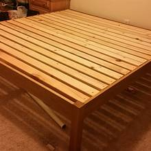 Platform Bed - Woodworking Project by David E.
