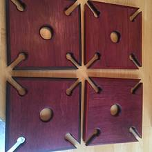 Wine glass caddies - Woodworking Project by Jeff