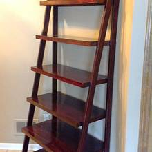 Ladder Shelf - Woodworking Project by Michael De Petro
