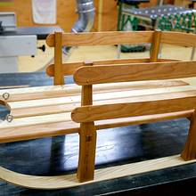 Sleigh - Woodworking Project by Manitario