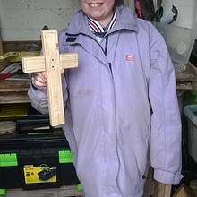 Wooden Cross  - Woodworking Project by Bo Peep