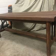 Bench  - Woodworking Project by Sheri Noble, woodworking at it's finest!