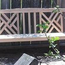 Chippendale Garden bench - Woodworking Project by a1jim