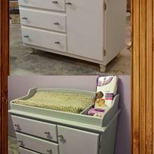 baby changing table - Woodworking Project by jaydeehat79