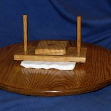 Lazy susan-knapkin press - Woodworking Project by Mark Michaels