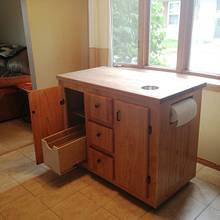 Kitchen Island - Woodworking Project by Nick Endle
