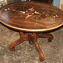 Marquetry table to order - Woodworking Project by Andulino