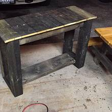 Quick deck side table  - Woodworking Project by Oblivion