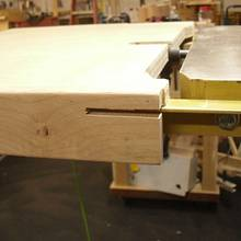 "Powermatic 14"" Band Saw Table Extension - Woodworking Project by Kelly"