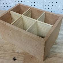 Open top box for organization - Woodworking Project by David E.