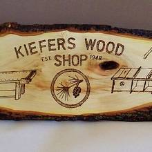 SHOP SIGN - Woodworking Project by kiefer