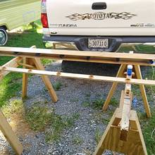 nite lite bar for camper - Woodworking Project by jim webster