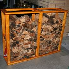 Fire Wood Storage - Woodworking Project by Kelly
