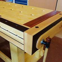 TAIL-GAP-END VICE  - Woodworking Project by kiefer