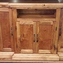 Tv stand w/ hidden compartments  - Woodworking Project by Nate Ramey