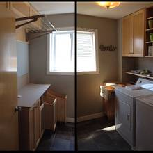 A dream laundry room - Woodworking Project by Narinder Jugdev