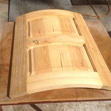 Les Hastings Curved Doors Tutorial 1st result. - Woodworking Project by RobsCastle