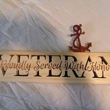 Navy veteran - Woodworking Project by Kepy