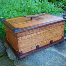 ALMOST FORGOT (SPALTED BEECH BOX ) - Woodworking Project by kiefer