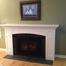 Arts & Crafts Fireplace Surround  - Woodworking Project by Todd Clippinger