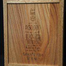 Blackjack Tournament Trophy - Woodworking Project by Pat Cavanaugh