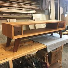 Mid century modern table - Woodworking Project by Narinder Jugdev