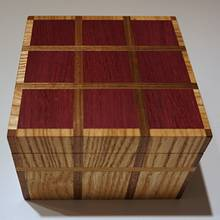 Easy Plaid Box - Woodworking Project by lanwater
