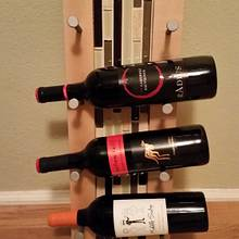 Wine rack version 2 - mix and match w/ glass tile - Woodworking Project by David E.