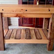Butcher Block Island - Woodworking Project by Chris & Sandy Charpentier