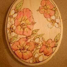 Hawaiian Flower Custom Order - Woodworking Project by CharleeAnn