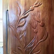 Fridge Panel - Woodworking Project by WestCoast Arts