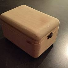 Keepsake box, by my son - Woodworking Project by Oblivion