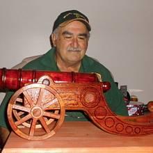 The BIG GUN - Woodworking Project by Sam Shakouri