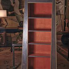steel clad bookcase - Woodworking Project by Jared Seaver