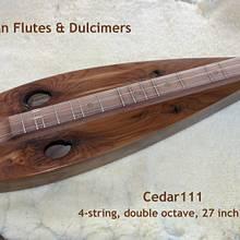 Knotty Cedar Tear-drop Dulcimer - Woodworking Project by Jack Ferguson