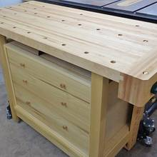 New Workbench - sort of - Woodworking Project by kdc68