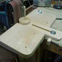 BELT SANDER ATTACHMENT (VIDEO ) - Woodworking Project by kiefer