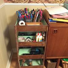 Art, Craft and Stationery Trolley - Woodworking Project by prxis