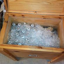 Father in laws ice chest - Woodworking Project by JrsWoodWorx