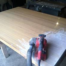 Finished workbench - Woodworking Project by Vettekidd97