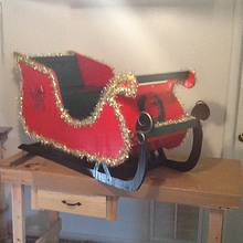finish yard christmas sliegh  - Woodworking Project by jim webster