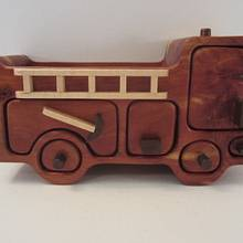 Little Red Fire Truck  - Woodworking Project by Blackie